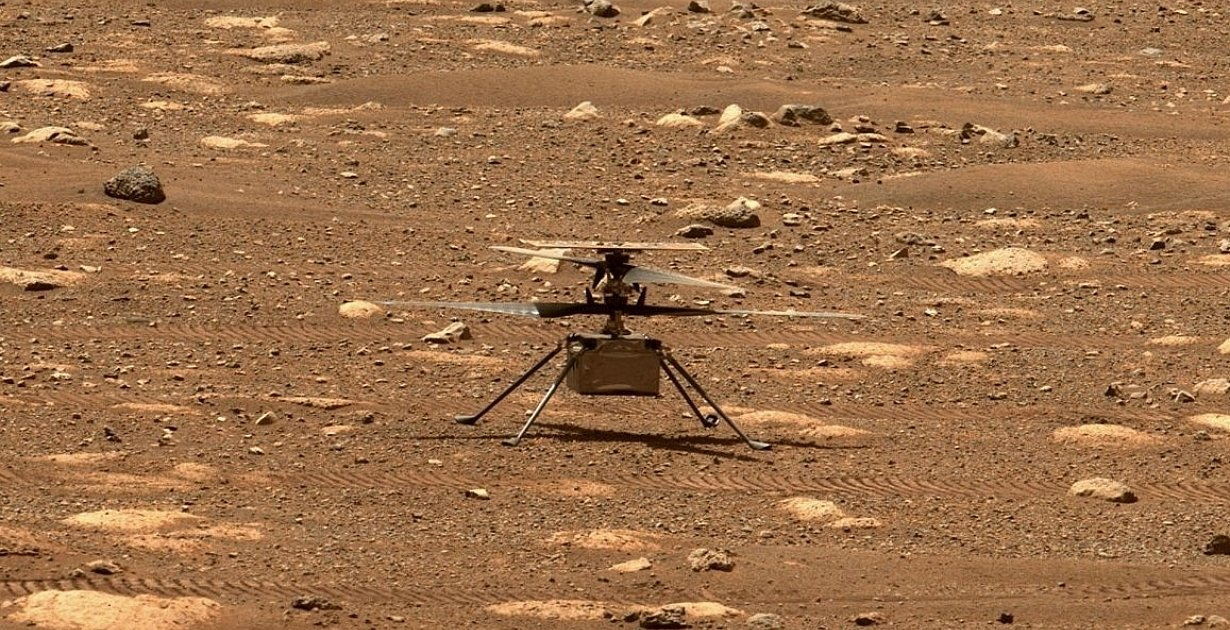 Mission Mars 2020 - Ingenuity in Warteposition