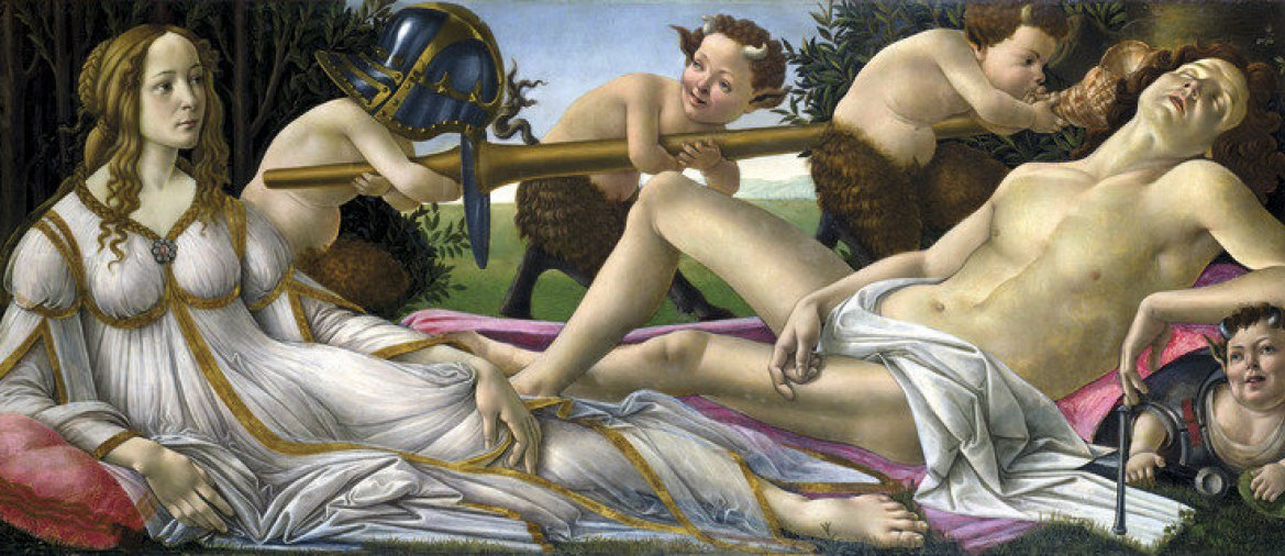 """Venus und Mars"" Sandro Botticelli, National Gallery, London. - © VCG Wilson / Getty"