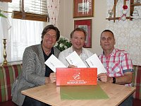 Robert Ohorn, Christian Faltl, Arno Peter (von links nach rechts) - © Arno Peter