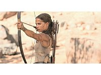 "Level geschafft: Alicia Vikander als Lara Croft im Film ""Tomb Raider"". - © Warner Bros."