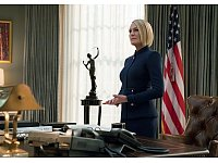 Robin Wright als Präsidentin Claire Underwood. - © Sky