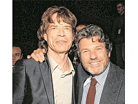 Jann Wenner (rechts) im Jahr 2007 mit Mick Jagger. - © Kevin Mazur/WireImage for Atlantic Records