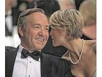 """House Of Cards"" von Netflix (mit Kevin Spacey und Robin Wright) entstand aus Big Data. - © sky"