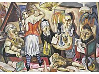 Max Beckmann: Familienbild, 1920. - © 2013 Digital image, The Museum of Modern Art, New York/Scala, Florence