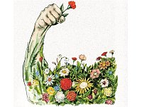 Flower-Power? - © Illustration: Jugoslav Vlahovic