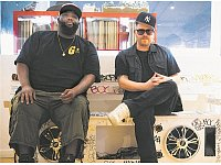 Auf Angriff: Killer Mike und El-P sind Run The Jewels. - © Run The Jewels