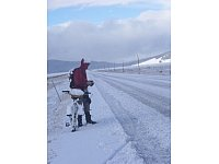 Winter-Abenteuer in Montana. Foto: www. adventurecycling.org - © Adventure Cycling