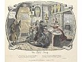 Scraps and sketches, etc. - caption: ''The Gin shop'. A satirical sketch on the dangers of drinking alcohol', George Cruikshank, 1828. - © Flickr, British Library