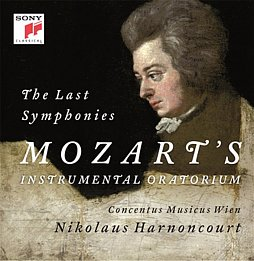 N. Harnoncourt: Letzte Mozart-Symphonien Sony Classical, 2 CDs, ca. 20 Euro