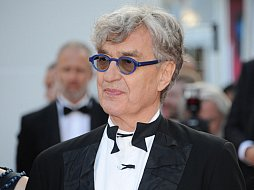 Wim Wenders in Cannes.