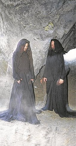 Meditation trifft Repetition: Stephen O'Malley und Greg Anderson alias Sunn O))).