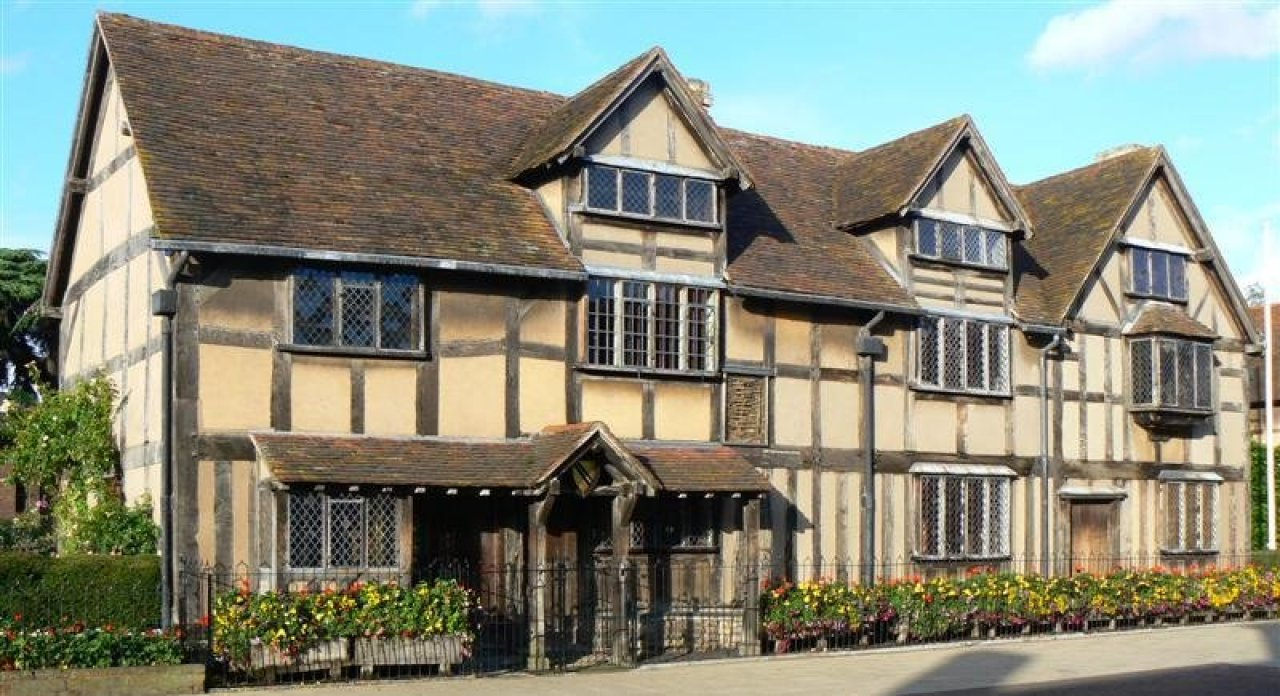 William Shakespeares Geburtshaus in Stratford Upon Avon. - © John, Stratford upon Avon, CC BY 2.0, https://commons.wikimedia.org/w/index.php?curid=3926496