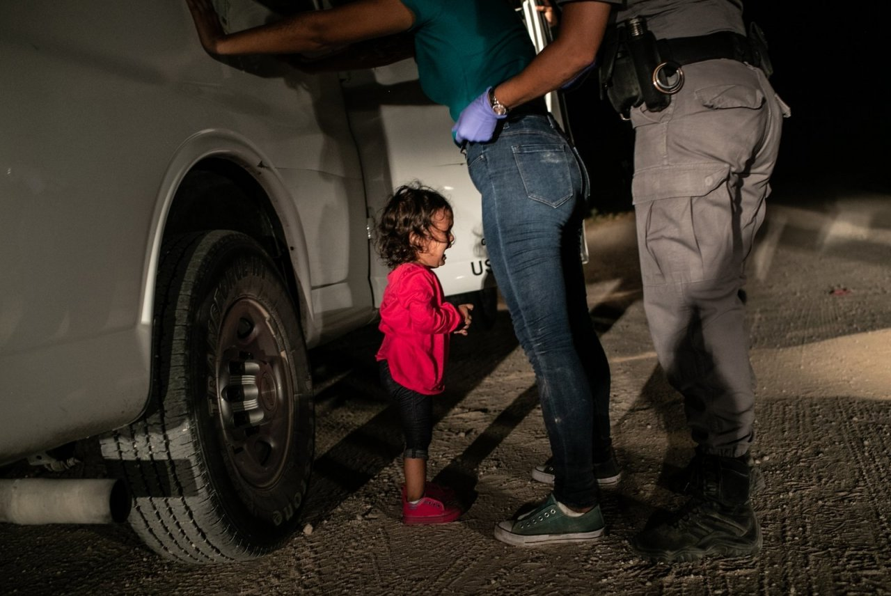 Das World Press Photo des Jahres 2019 reflektiert die Einwanderungspolitik Donald Trumps. - © Getty/John Moore