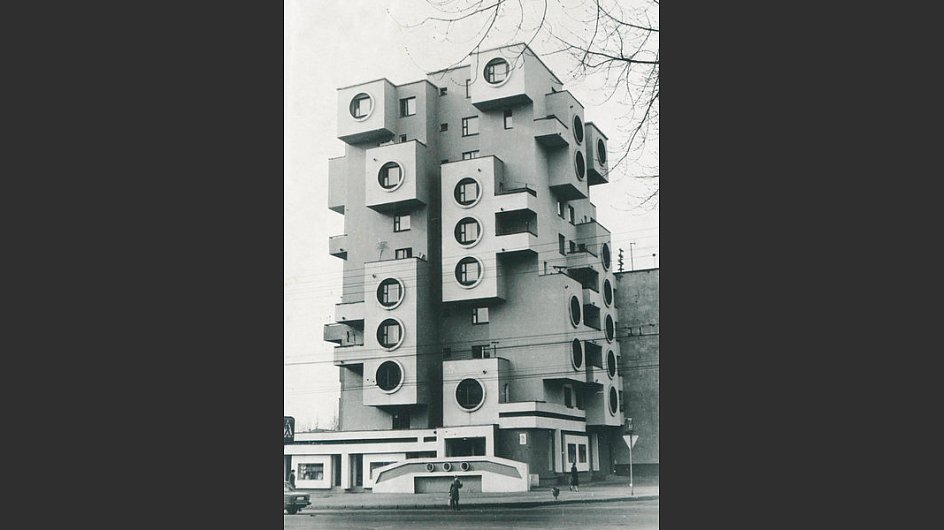 Wohnhaus an der Minskaja-Straße, 1980s, Bobrujsk, Weißrussland - © Belorussian State Archive of Scientific-Technical Documentation