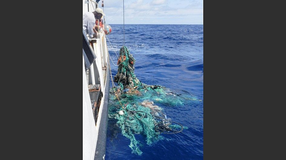 Allein beim <a href=&#34;https://www.theoceancleanup.com/great-pacific-garbage-patch/ &#34; target=&#34;_blank&#34;>&#34;Great Pacific Garbage Patch&#34;</a> werden 1,8 Millionen Plastikteile vermutet.&nbsp; - &copy; The Ocean Cleanup&nbsp;