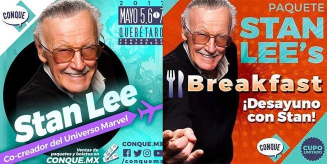 Stan Lee war der Star der Convention. - © (Flyer)